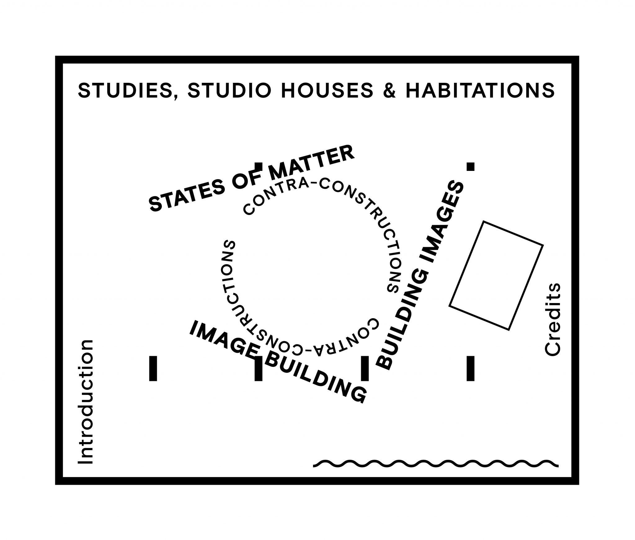 Floorplan Atelier Nelly & Theo van Doesburg